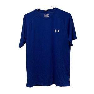 Under Armour Short Sleeve Heat Gear T-shirt medium blue